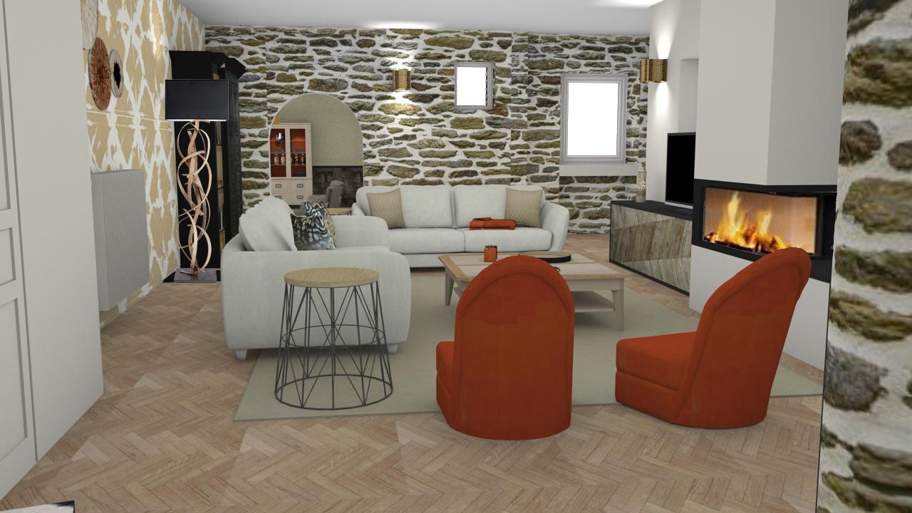 projet de d coration ethnique l gant et chaleureux. Black Bedroom Furniture Sets. Home Design Ideas