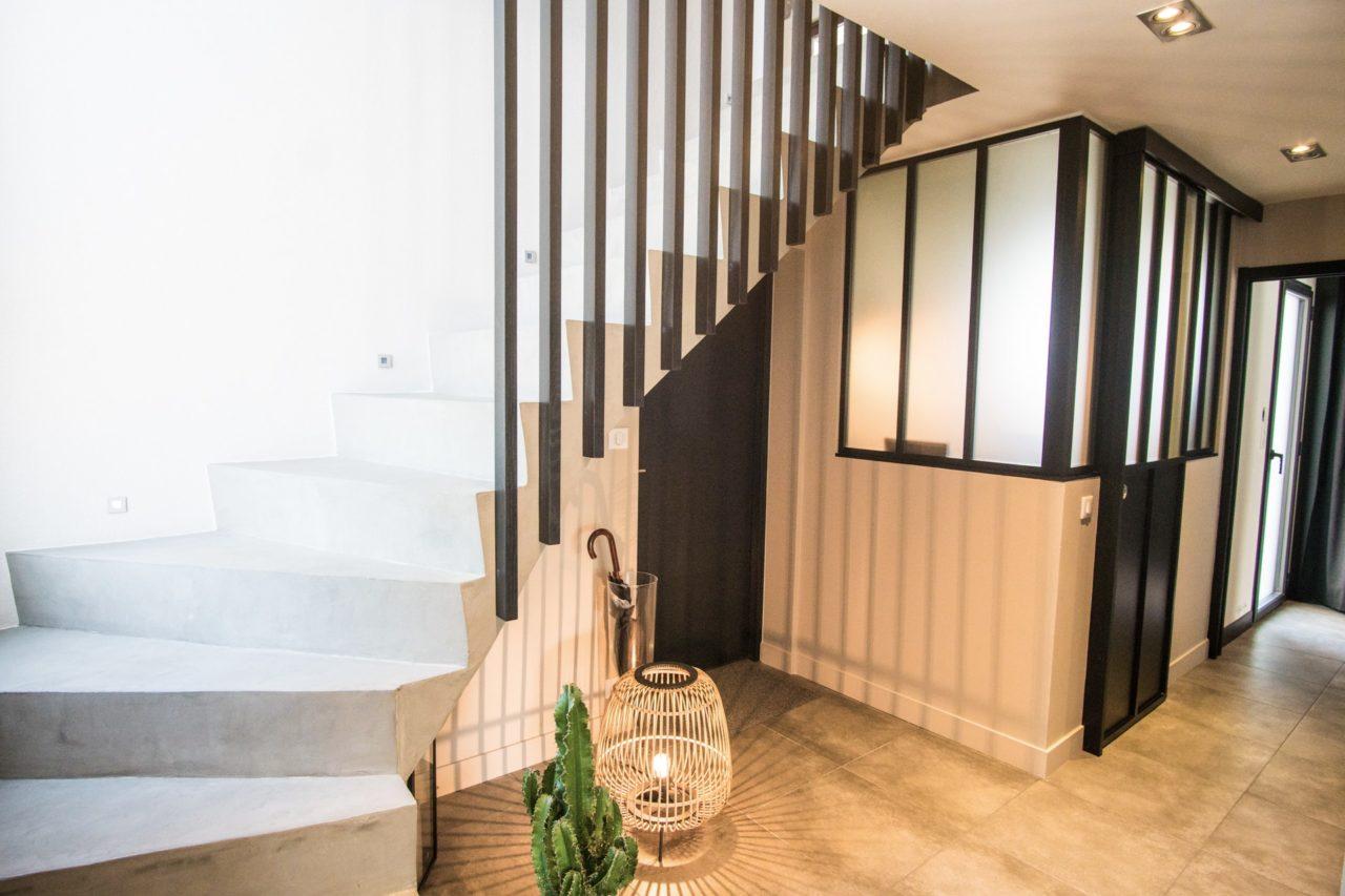 Peindre Une Cage D Escalier En 2 Couleurs décoration maison complète à erquy (22) - couleurs et nuances